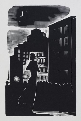 Stefan Zweig. Letter from an Unknown Woman. llustration.