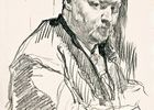 Portrait of the composer Aleхander Glazunov